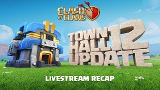 Clash of Clans - Town Hall 12 UPDATE Livestream Recap
