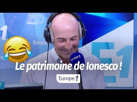 "SARKOZY : ""NOTRE-DAME RESTE AU PATRIMOINE DE IONESCO !"" (CANTELOUP)"