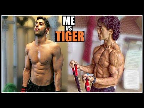 "I Tried "" TIGER SHROFF "" Bodybuilding Workout & Diet Plan"