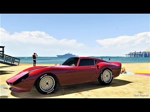 Ep150 GROTTI STINGER GT SPORTS CLASSIC BUY & CUSTOMIZE! - Let's Play GTA 5 Online PC 1080p HD