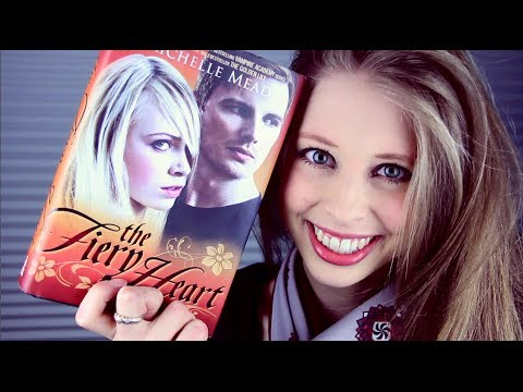 THE FIERY HEART BY RICHELLE MEAD   booktalk with XTINEMAY