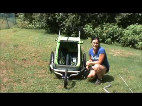 Croozer Kid for 2 (3 in 1 stroller) REVIEW