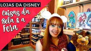 """Loja de """"A BELA E A FERA"""" na DISNEY de Orlando! (Magic Kingdom)"""