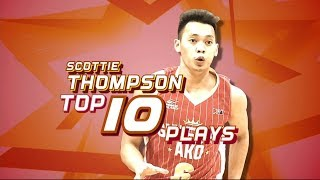Scottie Thompson Top 10 Plays