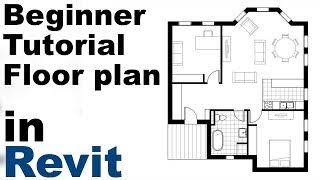 Revit Beginner Tutorial - Floor plan (part 1)