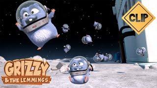 Grizzy & les Lemmings partent pour la lune ! - Grizzy & les Lemmings