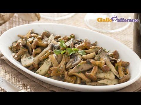 Video Sautéed mushrooms - recipe