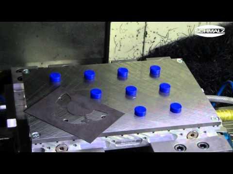 Matrix Plate Vacuum Clamping System