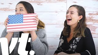 British People vs. American Citizenship Test | VT Challenges