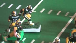 Electric Football Solitaire RAIDERS vs PACKERS 1st half
