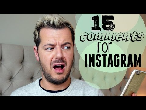 Things I Want To Say on Instagram...