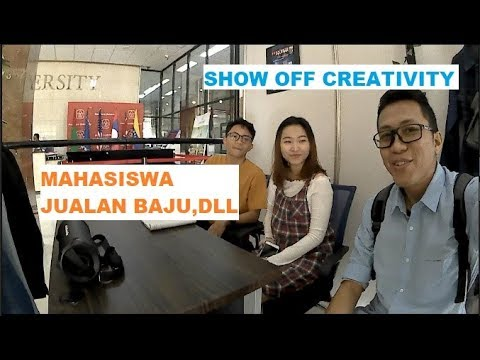Show Off Creativity Student | VisualCom.&Design | President University
