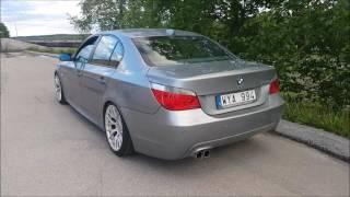BMW 530i E60 MUFFLER DELETE SOUND