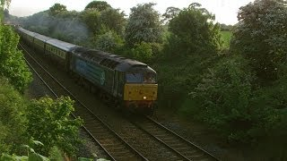preview picture of video 'Guilden Sutton Chester 15.5.2014 - Northern Belle Railtour Class 47'
