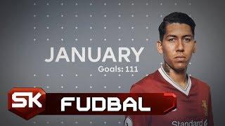 PREMIJER LIGA 2017/18 - Najbolji Golovi u Januaru   SPORT KLUB Fudbal