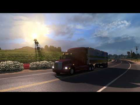 American Truck Simulator Steam Key GLOBAL - trailer vidéo