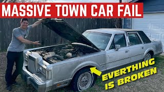 *HUGE MISTAKE* Buying A Lincoln Town Car With A Bad EVERYTHING