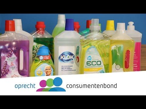 Allesreinigers - Hoe we testen (Consumentenbond)