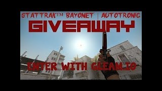 StatTrak™ Bayonet | Autotronic GIVEAWAY WINNER (+BONUS) - Video Youtube