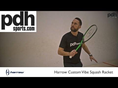Harrow Squash Racket Reviews: Part one – Custom Vibe by PDHSports.com