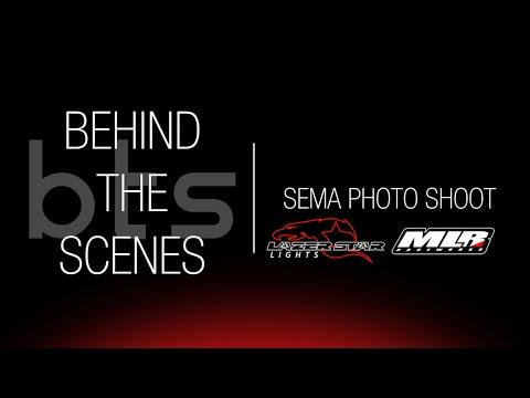 Behind the Scenes: SEMA Garage Photo Shoot