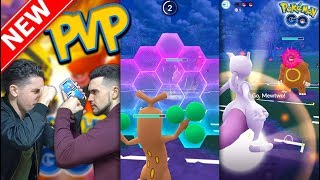 THE FIRST PVP BATTLE IN POKÉMON GO! Trainer Battles Update Is LIVE!