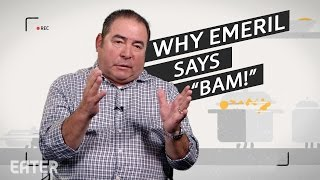 "Why Emeril Lagasse Always Says ""BAM!"""