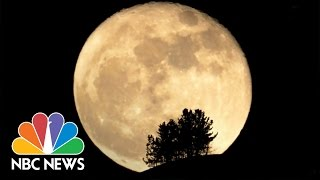 Why Tonight's Full Moon Is So Super | NBC News