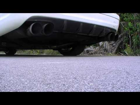 Magnaflow mufflers on AMG C63 no Cats, Long-Tube Headers X-pipe