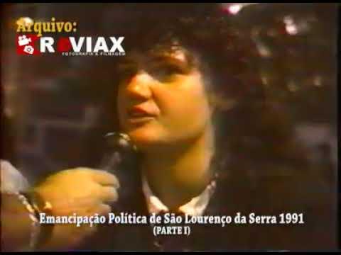 São Lourenço da Serra e sua Emancipação anos 90 Arquivo Reviax
