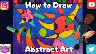 איך לצייר ציור מופשט