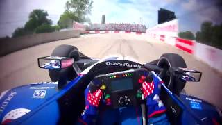 VISOR CAM // Graham Rahal At The 2018 Chevrolet Detroit Grand Prix Presented By Lear