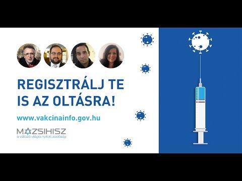 Regisztrálj Te is védőoltásra!