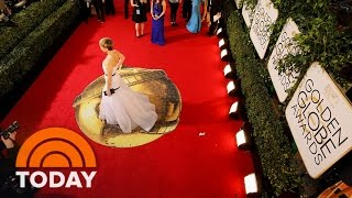 Why Do Celebs Walk The Red Carpet Before Award Shows? | TODAY