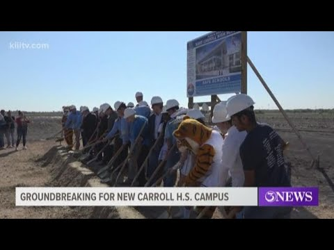 Groundbreaking marks start of construction at new Carroll High School campus
