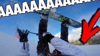 ФРОСТ Сноубордист.  ТРЮКИ на Сноуборде. НЕудачные ПАДЕНИЯ. Самые КРУТЫЕ Моменты