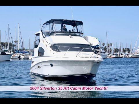 Silverton 35 Motor Yacht video