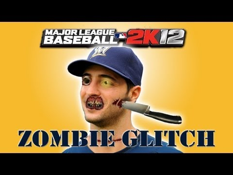 Is It A Dead Ball Situation When MLB 2K12's 'Zombie Player' Walks On The Field?