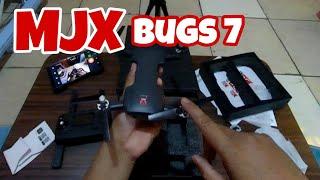 UNBOXING  Drone MJX BUGs 7 4K