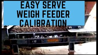 How To Calibrate A Weigh Feeder
