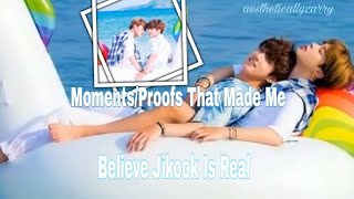 Moments That Made Me Ship/Believe Jikook [jungkook&jimin]