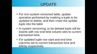 Implementing System Versioned Temporal Table - Surafel Temesgen: PGCon 2020
