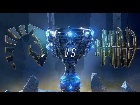 TL vs MAD | Worlds Group Stage Day 4 | Team Liquid vs MAD Team (2018)
