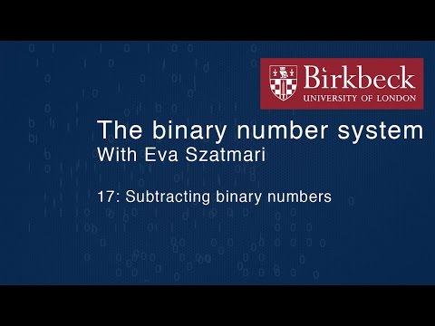 Binary 17: Subtracting binary numbers