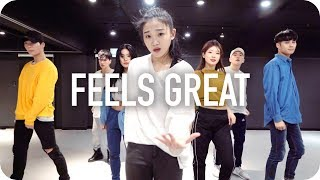 Feels Great - Cheat Codes ft. Fetty Wap & CVBZ / Yoojung Lee Choreography