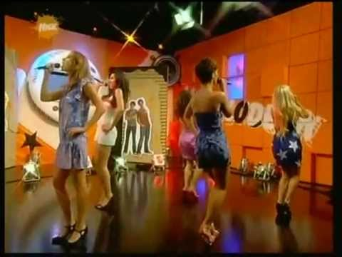 The Saturdays - If This Is Love (Live @ Nickelodeon 31/07/2008)