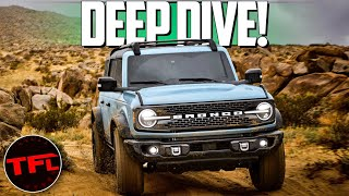 The Ford Bronco Is BACK! Heres How It Stacks Up To The Wrangler, 4Runner & Defender!