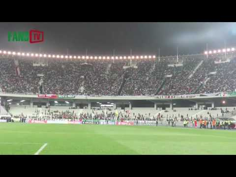 MC ALGER VS CSS-TUNISIE TIFO VIRAGE SUD 2017