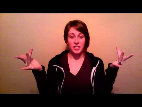 A Basic Course In ASL Vocab Lesson 1 - YouTube