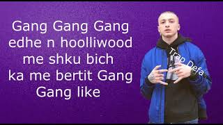 "FERO   GANG GANG (LYRICS)"" ME TEKST"" 🤘"